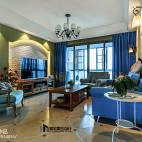 梦幻美式客厅设计案例