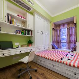 清爽美式儿童房装修