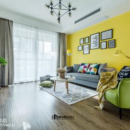 北欧风格二居室客厅设计