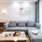 素雅日式客厅设计