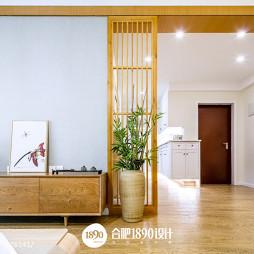 日式风格木隔断设计