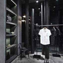 巴鲁特男装店展示架设计