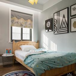 现代风格小户型儿童房装修