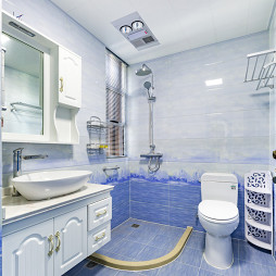 地中海风卫浴设计案例