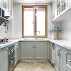 地中海风整洁厨房装修