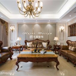 家装美式客厅装饰图欣赏