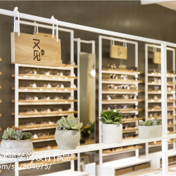 眼镜店设计展示架设计