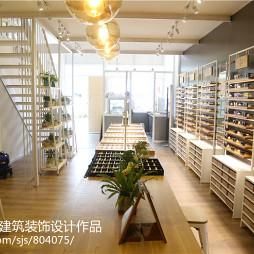 时尚的眼镜店装修