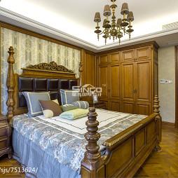 经典美式卧室装饰图