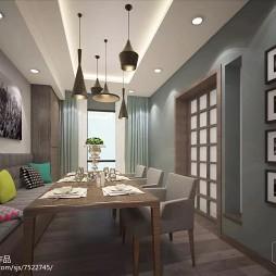 蓝湾·美式风格现代简约家装设计_2548390