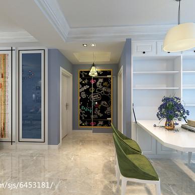简约北欧风格二居室案例_2549021