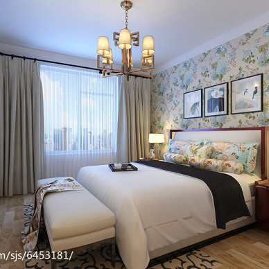 新中式三居室案例_2549035