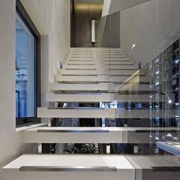 家居现代风格样板房楼梯装修