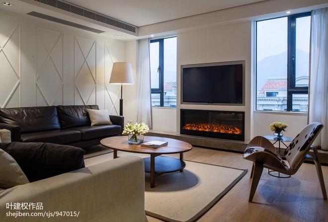 家居现代风格壁炉设计案例