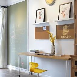 北欧风格三居室小书房设计