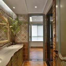 欧式三居室卫浴设计