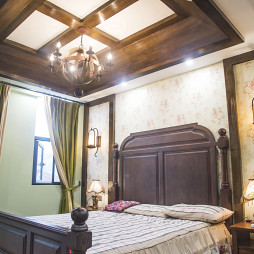 复古美式卧室设计案例