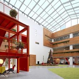 猎豹移动全球总部大厅装修