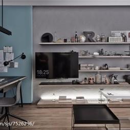 办公室电视背景墙装修