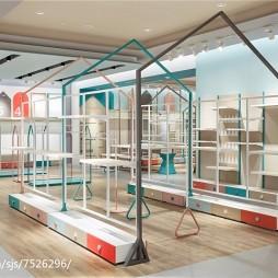 儿童购物商店展示架设计
