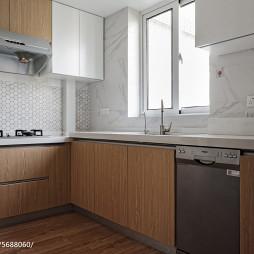 北欧原木风橱柜设计