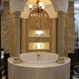 典雅美式卫浴设计案例