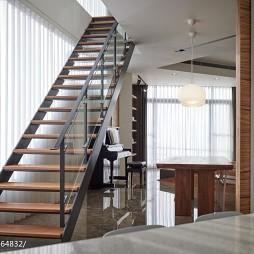 混搭风格家居楼梯设计