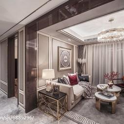 优雅混搭风格客厅设计