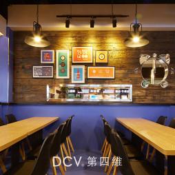 饥饿12点主题餐厅照片墙设计