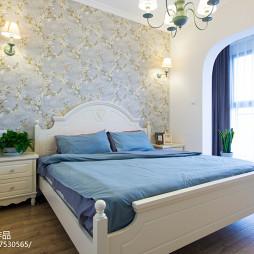 田园风格三居室卧室装修