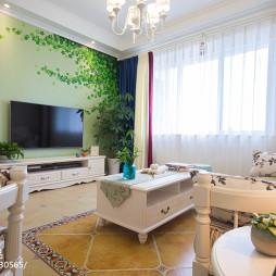 家居田园风格客厅设计