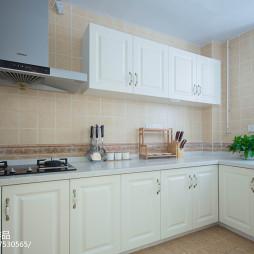 整洁田园风格厨房设计