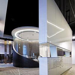世联财富办公室隔断设计
