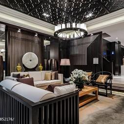华丽中式风格客厅装修