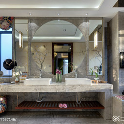 中式风格卫浴设计大全