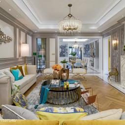 精美简欧风格客厅设计