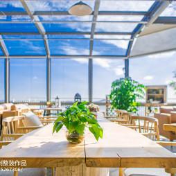 清新的咖啡厅设计