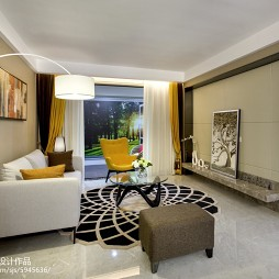 都市现代风格客厅设计