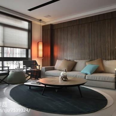 最新现代风格客厅装修图片