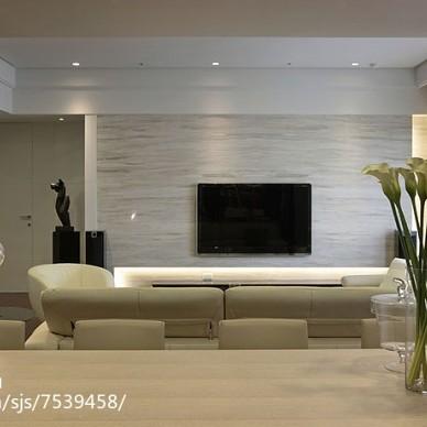 简洁现代风格背景墙设计大全