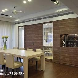 整洁现代风格餐厅装修