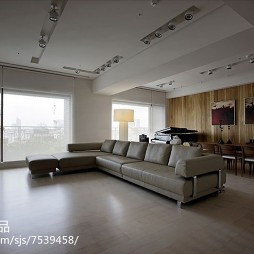 大气现代风格客厅装修案例