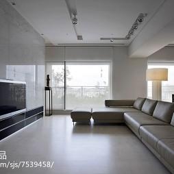极简现代风格客厅布置