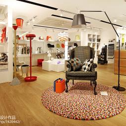 专卖店创意休息区设计