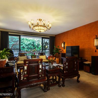 古雅中式风格客厅装修效果图