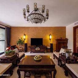 古雅中式风格客厅设计案例