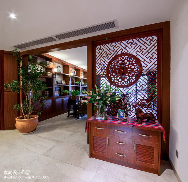 古韵中式风格玄关设计