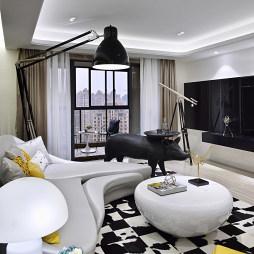 创意简约风格客厅装修