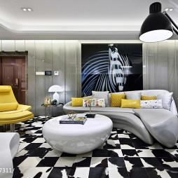 都市简约风格客厅设计案例