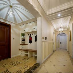别墅美式过道设计